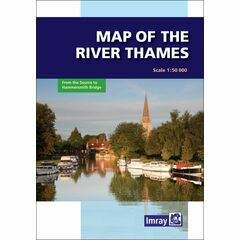Imray River Thames Map