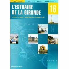 Imray Editions Du Breil No. 16 L'Estuaire De La Gironde Waterway Guide