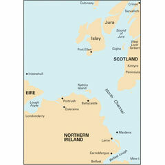 Imray Chart C64 Belfast Lough to Lough Foyle and Crinan