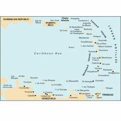 Imray 1 Eastern Caribbean General Chart