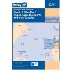 Imray C20 Gibraltar to the Azores and Islas Canarias Passage Chart