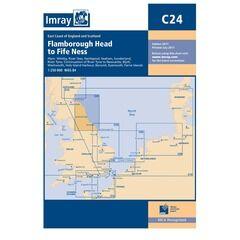 Imray Nautical Chart C24 Flamborough Head to Fifeness