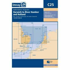 Imray Chart C25 Harwich to River Humber & Holland
