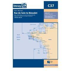 Imray Chart C37 Raz de Seine to Benodet