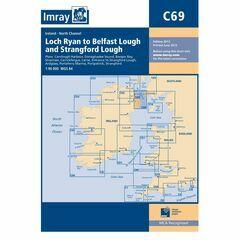 Imray Nautical Chart C69 Belfast Lough to Strangford Lough
