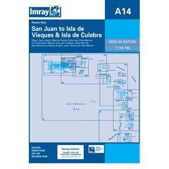 Imray A14 San Juan to Isla da Vieques & Isla de Culebra