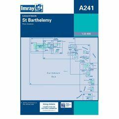 Imray Chart A241 St. Barthelemy
