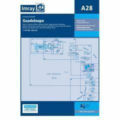 Imray Chart A28 Guadeloupe