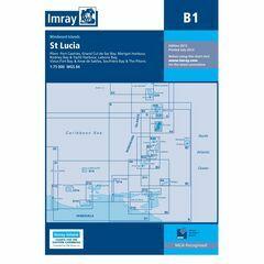 Imray Chart B1 St. Lucia