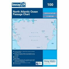 Imray 100 North Atlantic Passage Chart