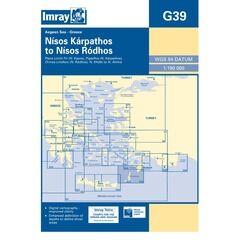 Imray Chart G39 Nisos Karpathos to Nisos Rhodos