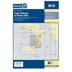 Imray Chart M19 Capo Palinuro to Punta Stilo