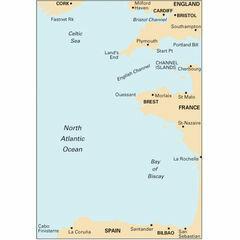 Imray C18 Biscay Passage Chart Fastnet to La Coruna