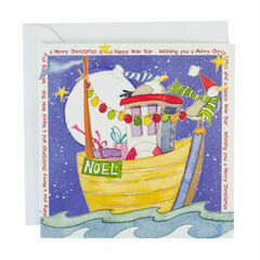 Ahoy! Christmas Cards (pack of 6) Emma Ball