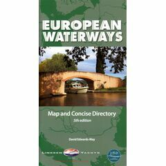 Imray European Waterways Map And Directory - 5th Edition