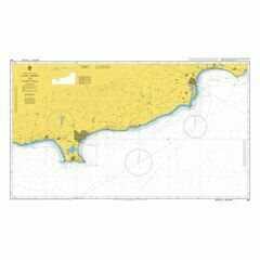 850 Cape Aspro to Cape Pyla Admiralty Chart