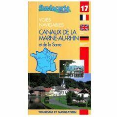 Imray Fluviacarte No. 17. Marne au Rhin Guide Guide