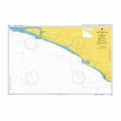 1363 Cape Saint Ann to Monrovia Admiralty Chart