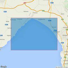247 Iskenderun Korfezi Northern Terminals Admiralty Chart