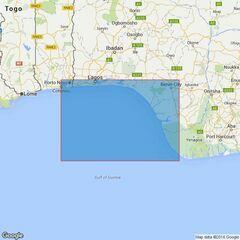 1385 Cotonou to Pennington River Admiralty Chart