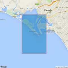 40 Karachi Harbour Admiralty Chart