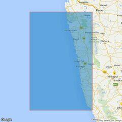 1508 Vengurla to Murud-Janjira Admiralty Chart