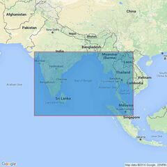 4706 Bay of Bengal Admiralty Chart