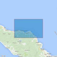 3919 Kruenggeukueh and Blanglancang to Ujung Peureula Admiralty Chart