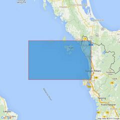 3943 Ko Tarutao to Pulau Pinang Admiralty Chart