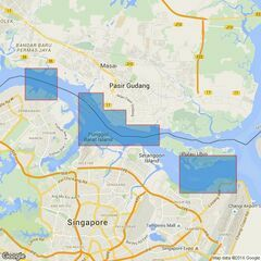 4044 Johor Strait, Eastern Part Admiralty Chart