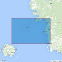 3758 Pulau Pesemut to Pulau Pulau Leman Admiralty Chart
