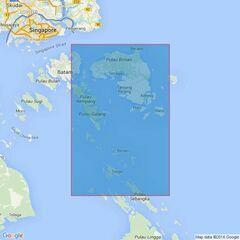 3949 Selat Riau Admiralty Chart