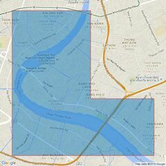993 Mae Nam Chao Phraya Admiralty Chart