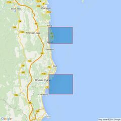 1374 Ports on the East Coast of Penisular Malaysia Admiralty Chart