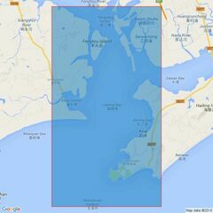 1555 Dafangji Dao to Hong Kong Admiralty Chart