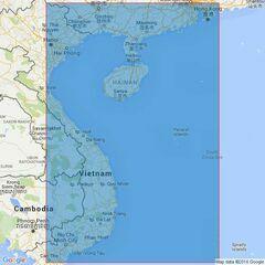 3488 Song Sai Gon to Hong Kong Admiralty Chart