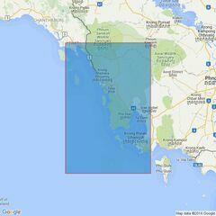3967 Baie De Ream to Ko Kut Admiralty Chart