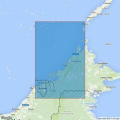 1338 Seria to Balabac Strait including Investigator Shoal Admiralty Chart