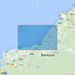 3837 Kuala Mukah to Kuala Niah Admiralty Chart