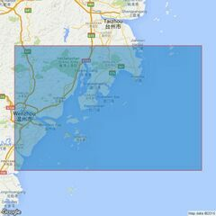 1721 Beijishan Liedao to Taizhou Liedao Admiralty Chart