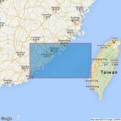 1760 Taiwan StraitSouthern Part Admiralty Chart