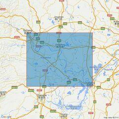 2947 Chang JiangSheet 2Datong to Yichang and Changsha Admiralty Chart