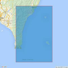 3233 O-Luan Pi to T'ai-Tung Kang Admiralty Chart