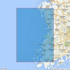 913 Taehuksan Kundo to Kyongnyolbi Yolto Admiralty Chart