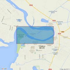 2991 Yingkou and Approaches Admiralty Chart