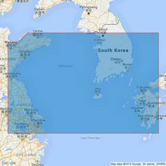 3480 Yellow Sea and Korea Strait Admiralty Chart