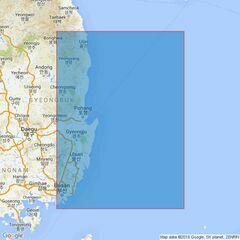 3666 Pusan Hang to Chukpyon Hang Admiralty Chart