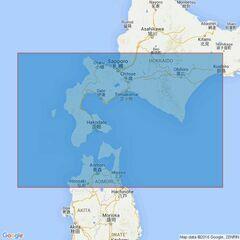 1800 South-West Hokkaido Admiralty Chart