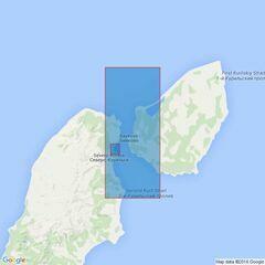 2128 Ostrov Onekotan to Poluostrov Kamchatka Admiralty Chart