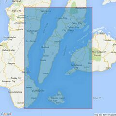 4473 Southern Part of Tanon Strait and Cebu Strait to Bohol Sea Admiralty Chart